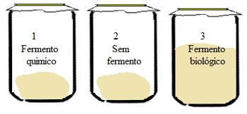 Experimento sobre fermentação no preparo de pão