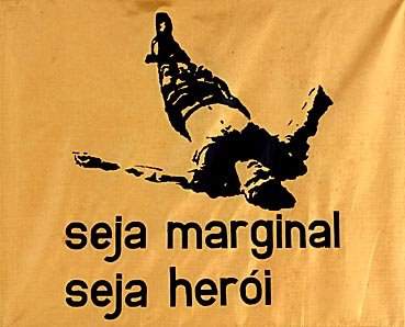 Trabalho de Hélio Oiticica que define em poucas palavras o movimento conhecido como poesia marginal