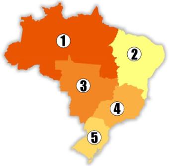 Divisão regional brasileira
