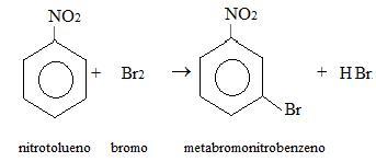 meta-bromonitrobenzeno
