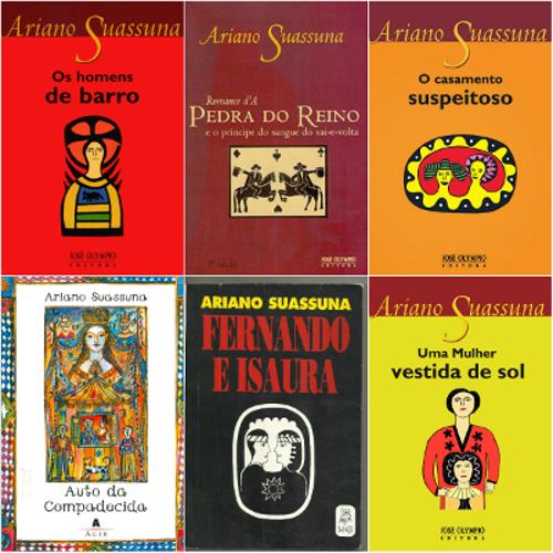Entre seus livros mais famosos estão Os homens de barro, Romance d' A pedra do reino e o príncipe do sangue vai-e-volta e Auto da Compadecida**
