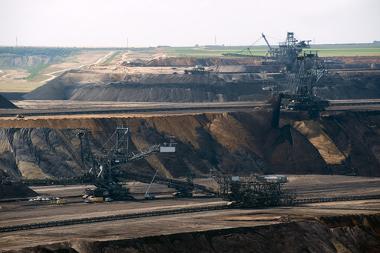 Área de extração de carvão mineral, uma das fontes de energia mais utilizadas no planeta