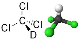 Fórmula estrutural do clorofórmio