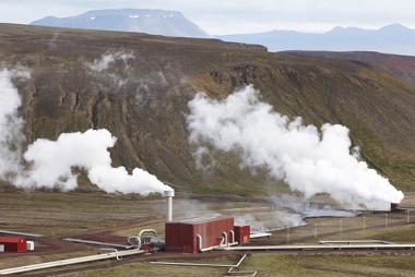 Usina de energia geotérmica