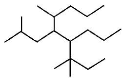 Fórmula de traços de composto orgânico