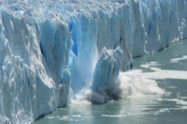 O degelo é um dos efeitos do aquecimento global