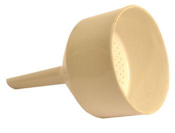 Funil utilizado em uma filtração a vácuo