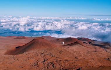 O Mauna Kea é um ponto turístico por proporcionar uma bela vista