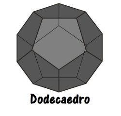 O dodecaedro é o único poliedro de Platão com faces pentagonais