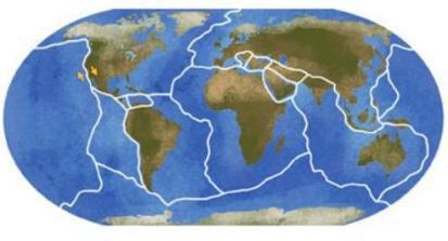 Placas Tectônicas da Terra**