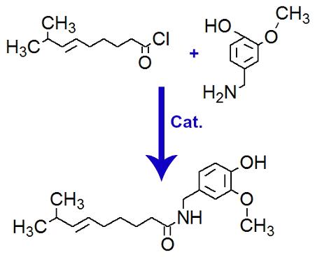 Equação de formação da capsaicina