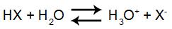 Equação de ionização do ácido