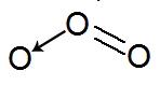 Fórmula estrutural do O3