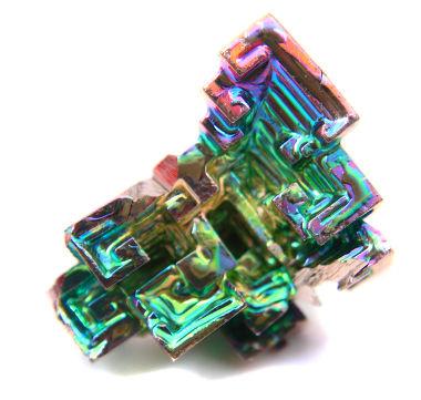 Cristal de bismuto, um material diamagnético