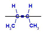 Fórmula estrutural do cis-but-2-eno