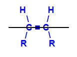 Plano imaginário dividindo a molécula