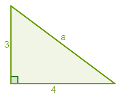 Teorema de Pitágoras: exemplo 01
