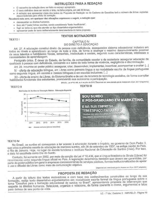 Reflexões sobre ensino de leitura e escrita de lingua portuguesa 7