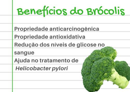 Veja alguns benefícios do consumo do brócolis