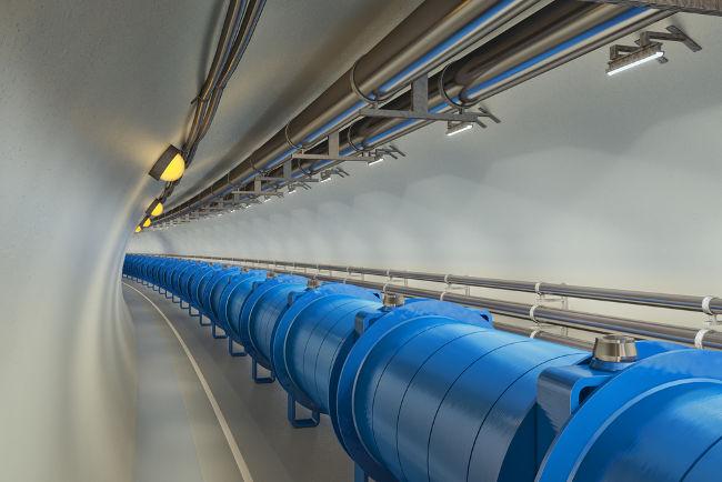 Os aceleradores de partículas podem ser usados para produzir radiação eletromagnética altamente energética.