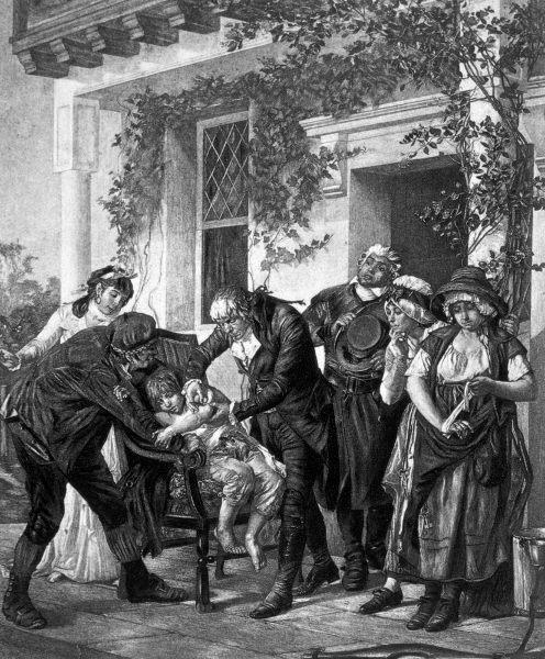 Edward Jenner criou a vacina contra a varíola e ajudou a erradicar essa grave doença.