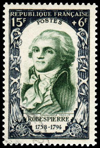 Maximilien Robespierre, líder dos jacobinos e grande nome do Terror, foi guilhotinado a mando dos girondinos.*