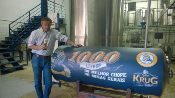 Representação de Storytelling sobre a Krug Bier