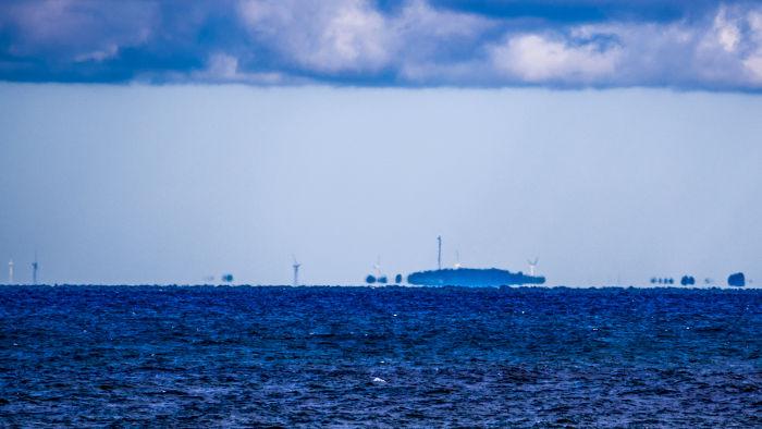 O efeito Fata Morgana surge quando a água dos mares está fria, e o ar atmosférico, quente.