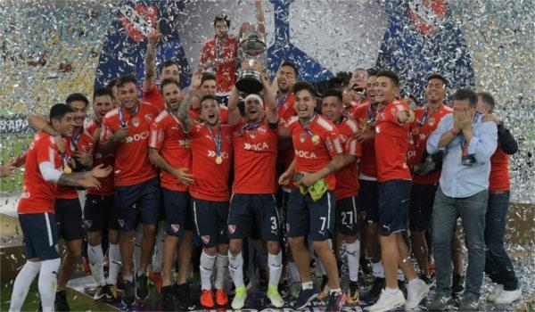 Independiente é o maior campeão da Libertadores. (Crédito: Shutterstock   A.PAES)