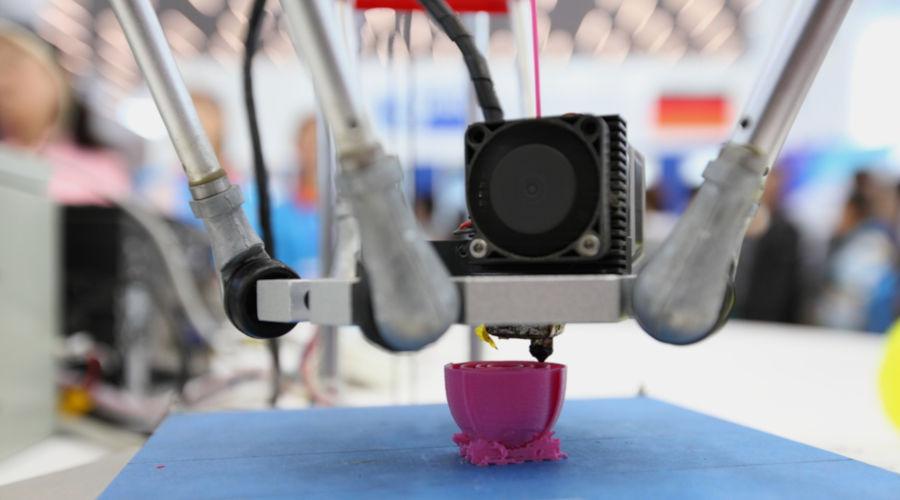 Uma das características da Quarta Revolução Industrial é a impressão 3D.