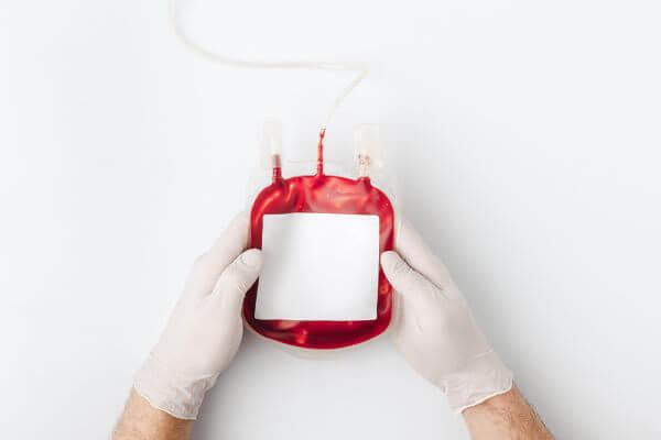 O sangue recebido em doação passará por vários exames antes de ser armazenado.