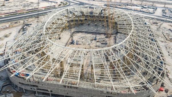 Estádio Al Rayyan receberá jogos até as quartas de final da Copa. (Crédito: Divulgação)