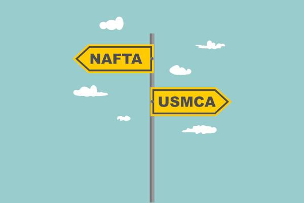 O USMCA é um acordo que substitui o Nafta.