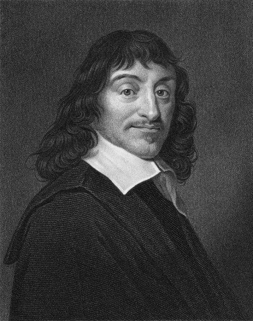 """René Descartes, o autor da máxima """"penso, logo existo""""."""