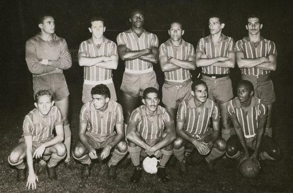 Equipe do Bahia, primeiro campeão brasileiro, em 1960.