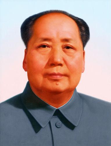 Mao Tsé-Tung (1893-1976) liderou a luta contra os nacionalistas e os japoneses e esteve à frente de mudanças significativas na China.[1]