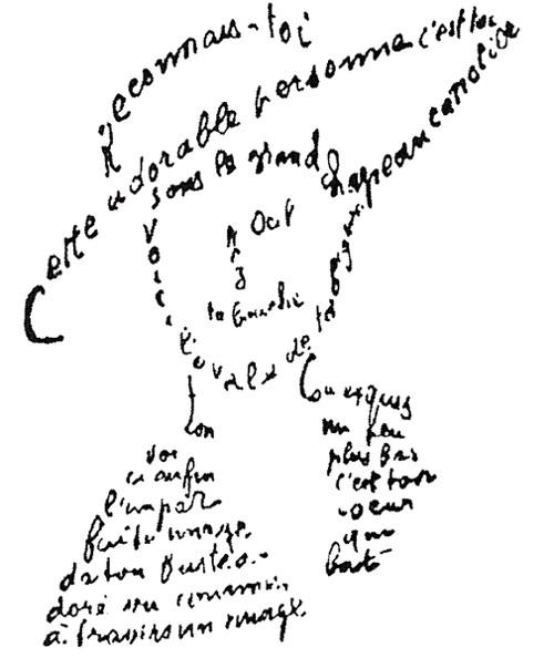 Guillaume Apollinaire, Poema de 9 de fevereiro.