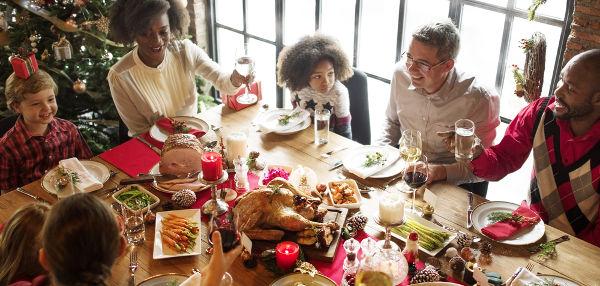 A Ceia de Natal é um dos momentos mais importantes da comemoração natalina.