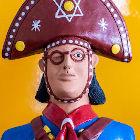 Boneco colorido de Cangaceiro