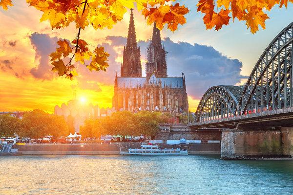 Cidade de Colônia, na Alemanha