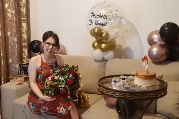 Nattane conquistou o título de doutorado aos 24 anos / Crédito: Arquivo pessoal/Nattane Costa