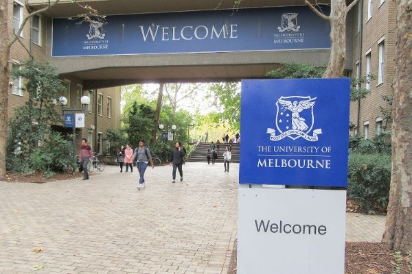 University of Melbourne, na Austrália