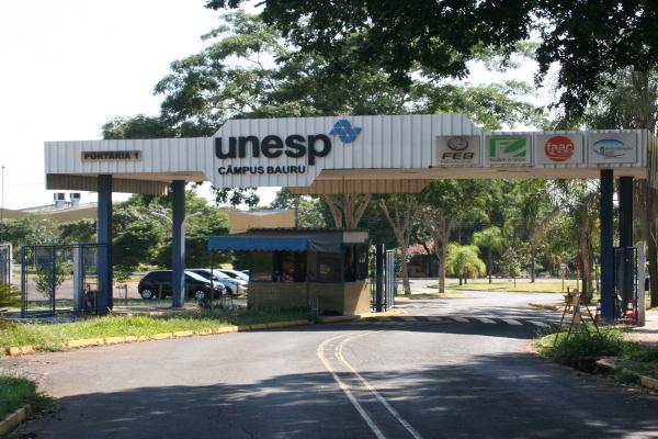 Portaria da Unesp Bauru - Crédito da foto: Unesp/Divulgação